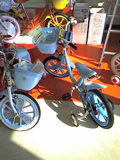 よつばちゃんの自転車