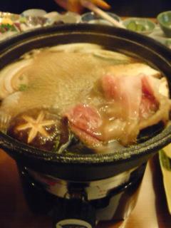 前沢牛のすき焼き