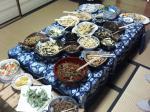 願力寺さん季節のお料理満載