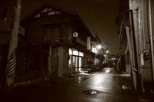 雨上がりの夜の喜多方1