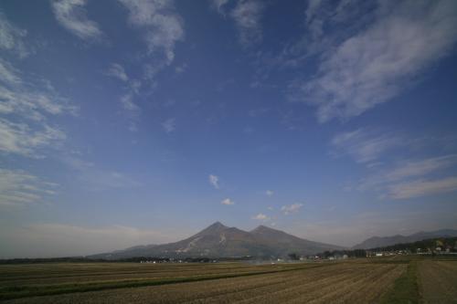 晩秋の磐梯山1