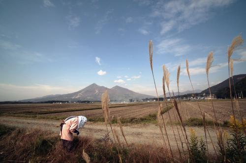 晩秋の磐梯山2