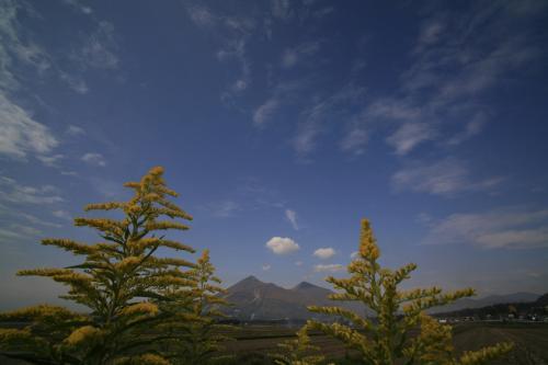 晩秋の磐梯山3