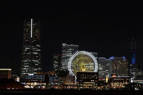 大桟橋から見た夜景1