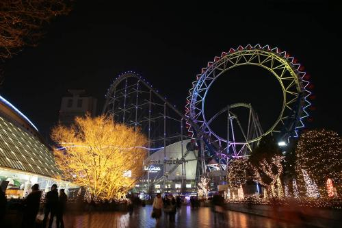 東京ドームシティー夜景7