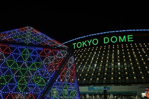 東京ドームシティー夜景8