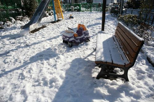 雪降った翌日5