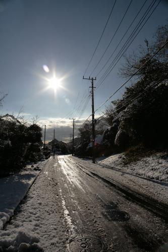雪降った翌日6
