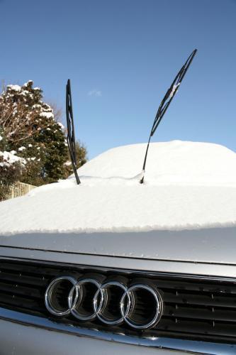 雪降った翌日7