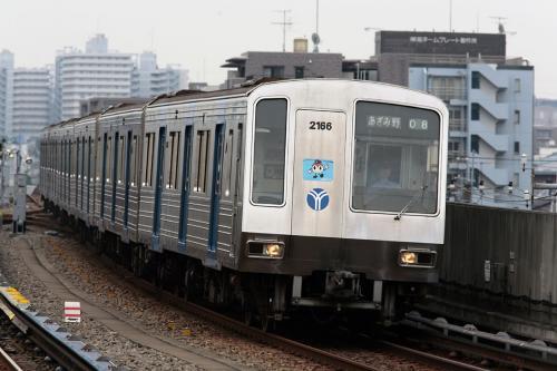 横浜市営地下鉄2000系@新羽