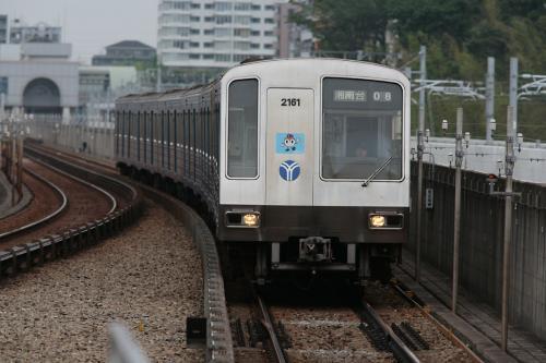 横浜市営地下鉄2000系@センター南