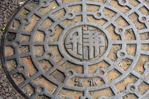 鎌倉のマンホール1