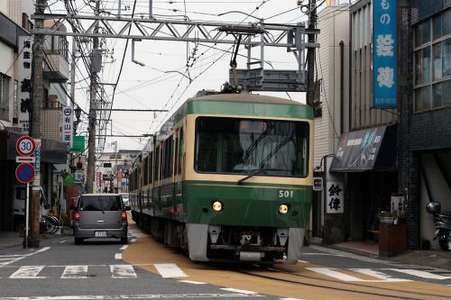 江ノ電・新500系4