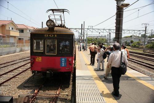子電鉄801銚子駅