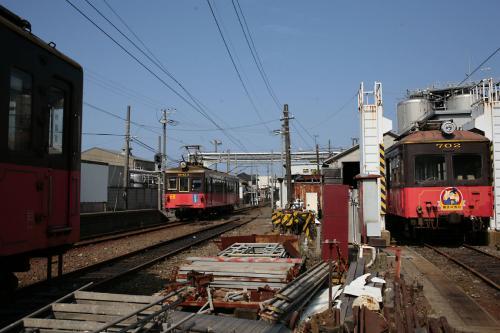 銚子電鉄中ノ町車庫1
