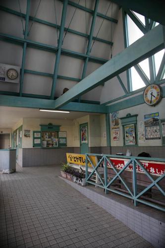 銚子電鉄観音駅舎2