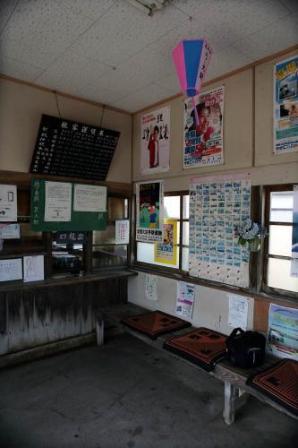 銚子電鉄笠上黒生駅舎2