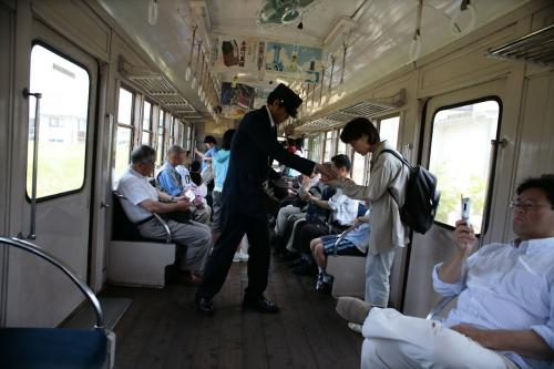 銚子電鉄801車内2