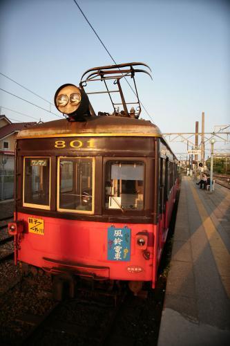 銚子電鉄801銚子駅夕方