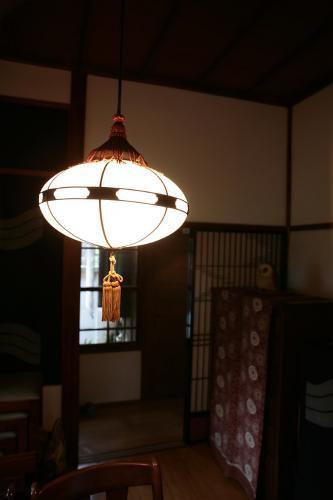 鎌倉無心庵・客室電燈