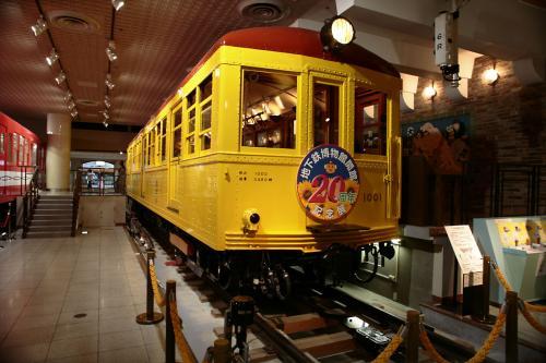 地下鉄博物館6東京地下鉄道1000系1
