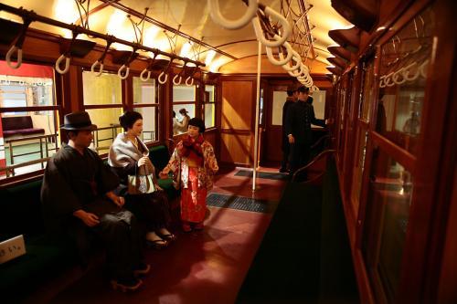 地下鉄博物館9東京地下鉄1000系車内1