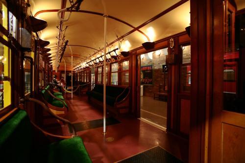 地下鉄博物館12東京地下鉄1000系車内4