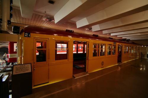 地下鉄博物館17東京地下鉄1000系ホーム2