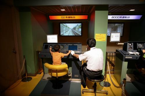 東京地下鉄博物館25運転シュミレーター1