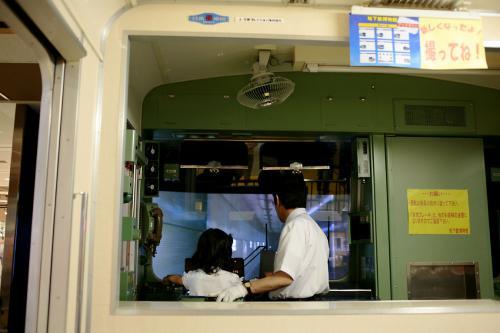 東京地下鉄博物館26運転シュミレーター2