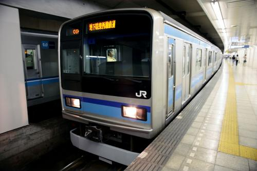 京地下鉄博物館29帰りの電車