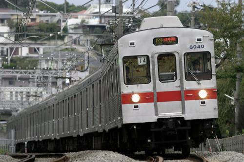 東急8000系8039F未更新車@錦が丘
