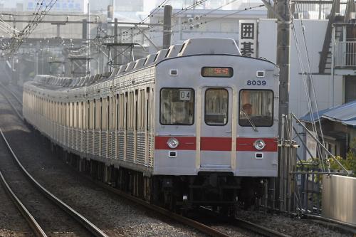 東急8000系8039F未更新車@大倉山