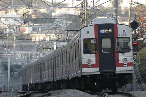 東急8000系8021F幕車