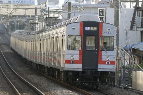 東急8000系8021F幕車@大倉山