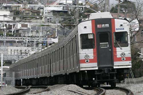 東急8000系8021F方向幕車@最終運用_1