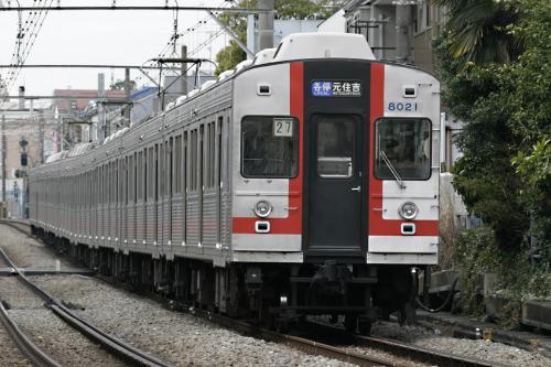 東急8000系8021F方向幕車@最終運用_2