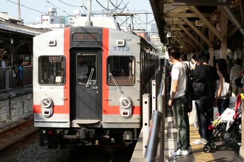 東急7700系7913F旗の台・蒲田行