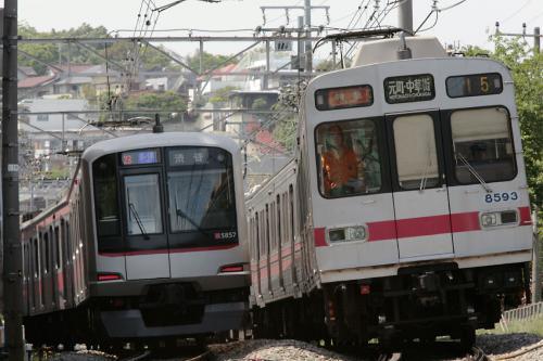 東急8590系8693F&5050系5157F
