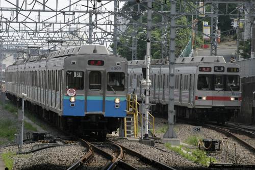 東急8000系8007F&8590系8965F@日吉