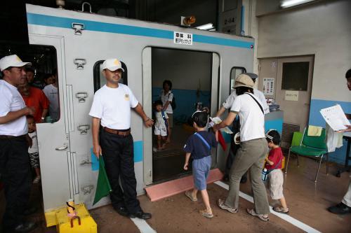 JR大井工場電車の戸閉め機TK4Jモックアップ