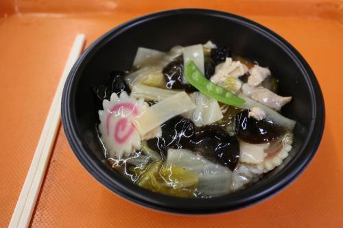 JR大井工場昼飯の中華丼