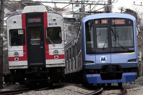 東急8000系&横浜高速Y500系
