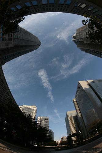 新宿の空5