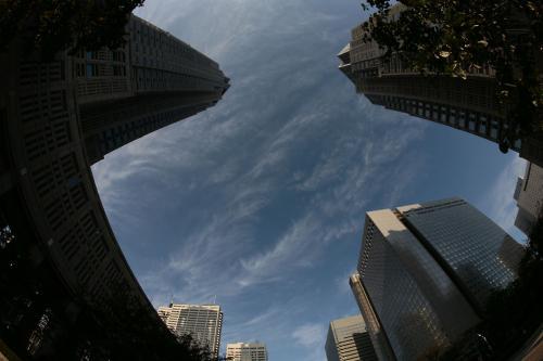 新宿の空6