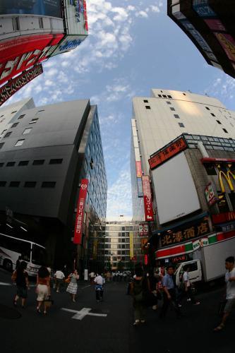 新宿の空7