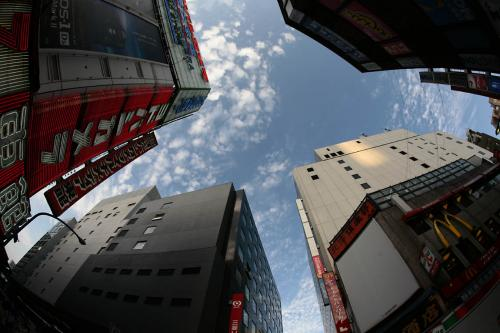 新宿の空8