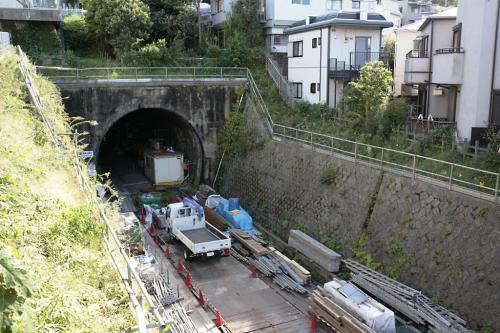 反町のトンネル1