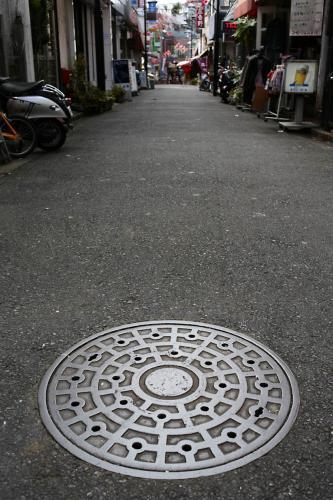妙蓮寺のマンホール2