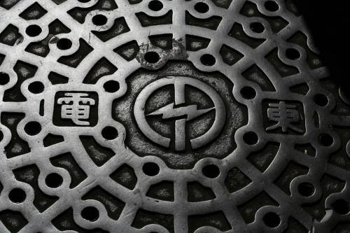 浅草のマンホール5東電